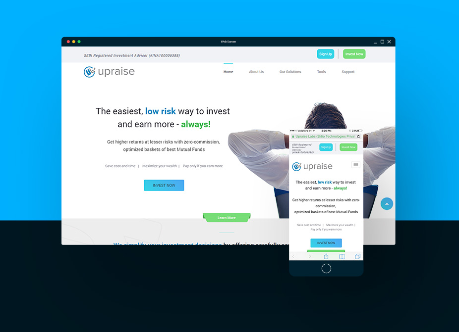 upraise-website